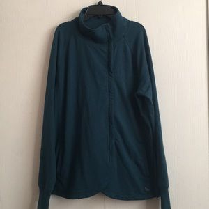 Eddie Bauer Women's Zip Up Sweater XL
